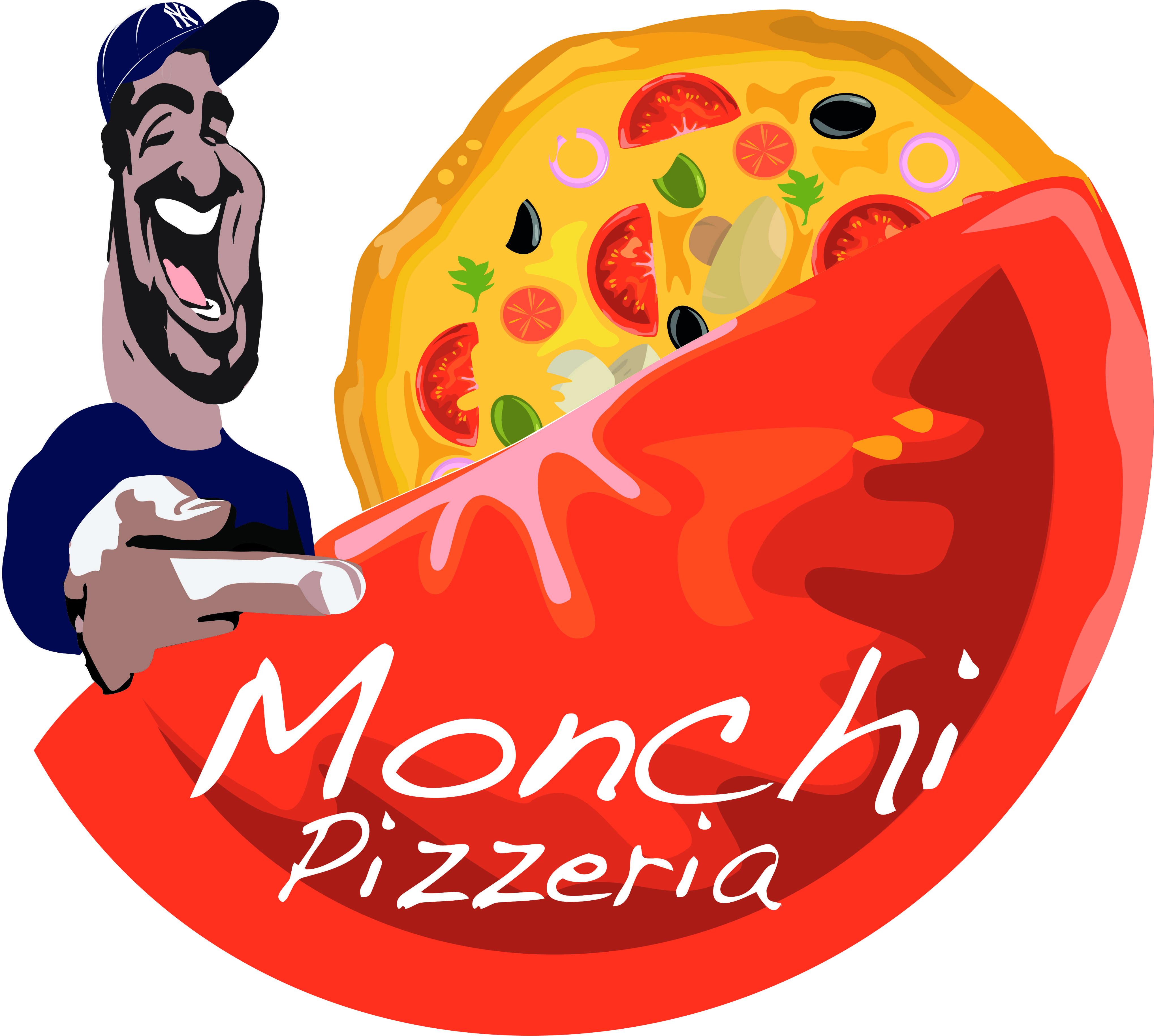 Monchi Pizzeria Logo