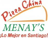 Pizza China Menay's Logo