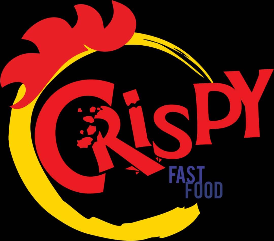 Crispy Fast Food Logo