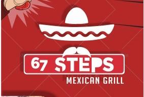 67 Steps Mexican Grill Logo