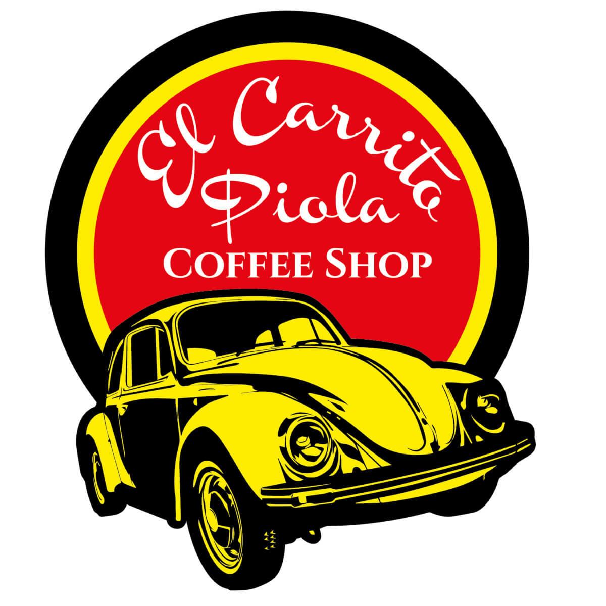 El Carrito Piola Coffee Shop Logo